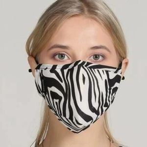 Accessories - New Zebra print face mask cover reusable Unisex